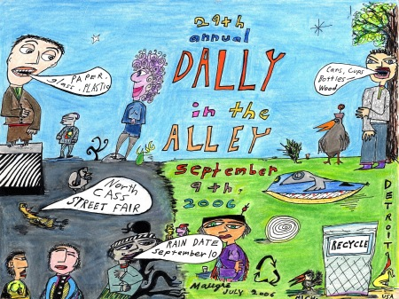 "My 2006 ""Dally in the Alley"" Poster"