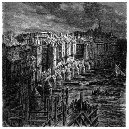 London Bridge by Gustave Doré